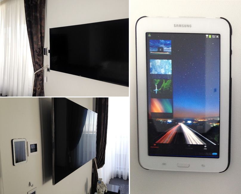 Using Android Device As Dmx Touch Panel For Apartment Roof
